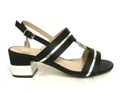 l'ultimo migliore nuovi stili Laura Biagiotti Women's Shoes Mid Heel Sandals 550 Black Summer ...