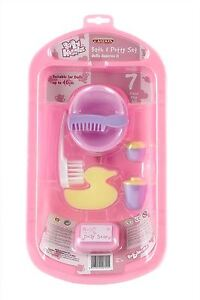 Casdon-Baby-Huggles-Dolls-Bath-amp-Potty-Set-With-Accessories-Playset-Toy