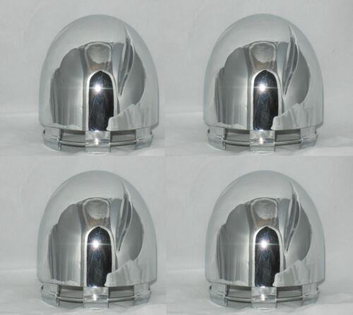 SET OF 4 PANTHER PCW-2 AKUZA ARC-2 FITS ECO 820 NO LOGO WHEEL RIM CENTER CAPS