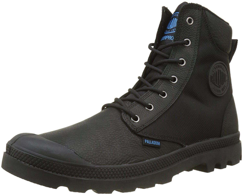 Women's Palladium Boots WaterProof Pampa Sport Cuff Cuff Cuff WPN Black   Black 8abcb4