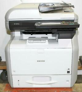 Details about Ricoh SP 4510SF All-in-One Monochrome LED Printer 407302 *For  Parts* 800142198