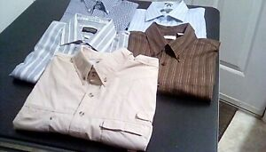Lot-of-5-mens-shirts-size-XL-Pre-owned-in-excellent-condition