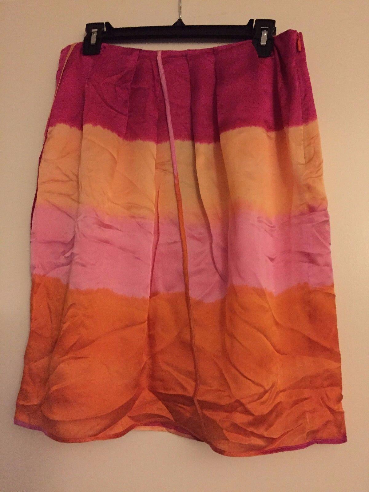 NWT BOSS by Hugo Boss Silk Skirt Vallorca1  314 – US 10