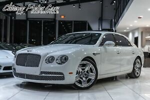 2014 Bentley Flying Spur Sedan LOADED Glacier White!