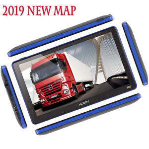 Trucker Navigation System Semi Truck GPS Commercial Driver Big Rig Accessories