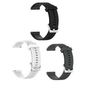 Soft-Silicone-Wristband-22mm-Watch-Strap-for-Garmin-Vivoactive4-Accessories
