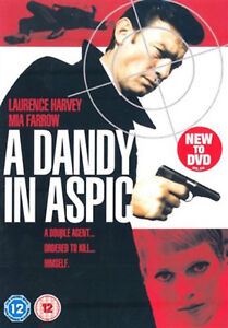 A DANDY IN ASPIC DVD Laurence Harvey Tom Courtenay Anthony Mann UK Rele New R2