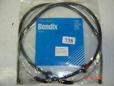Renault 15 17 cable frein a main secondaire double Bendix 7700656086 7701348285