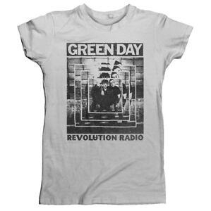 Green-Day-039-Power-Shot-039-Girlie-T-shirt-NEW-girls-womens-shirt