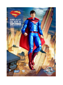 Super Alloy 1  6 skala Justice League Superman 12 tum Action Figur