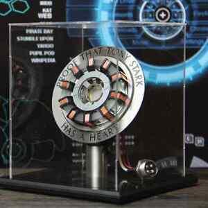 Details about IRON MAN 1:1 ARC REACTOR PROOF TONY STARK HAS A HEART LED  LIGHT DIY DISPLAY