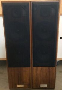 Jensen 3080 Vintage Digital Tower Speakers Dual 8 Woofers Ebay