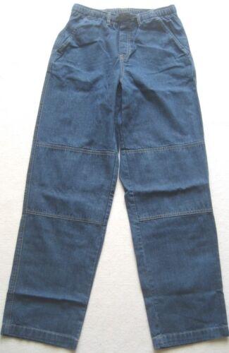 'End Gr Avec Lands Ladies Elasticated 20 bleu Pants Denim BwAAqd