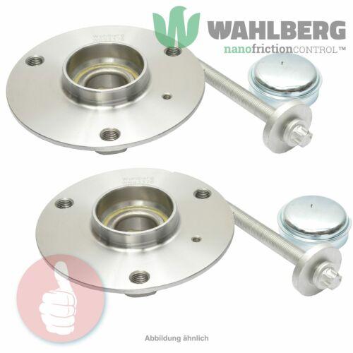2 x Original WAHLBERG Radlager Radlagersatz WB93376 Vorderachse