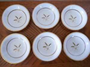 6-VINTAGE-ROSENTHAL-GERMANY-034-BOUNTIFUL-034-FRUIT-DESSERT-SAUCE-BOWLS-RETIRED