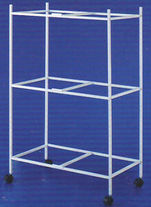 3-Tiers-Stand-For-30-039-x18-039-x18-034-H-Aviary-Bird-Flight-Breeding-Cages