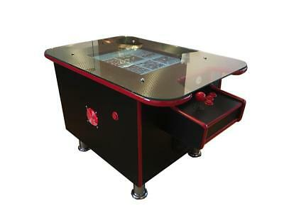 Arcade Coffee Table.Arcade Coffee Table Machine 60 Retro Games 2 Player Gaming Cabinet Uk Made To Or Ebay