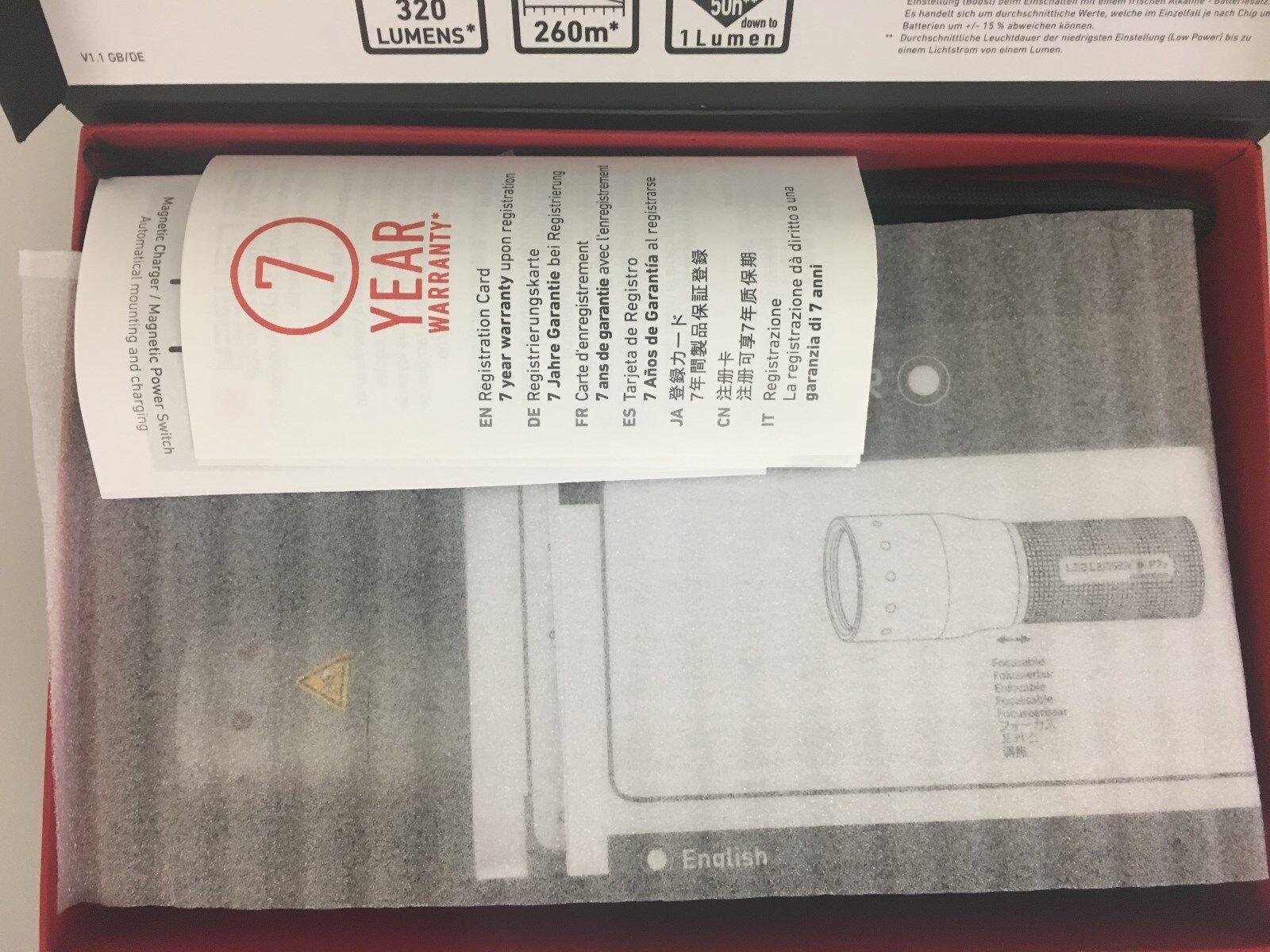 LED LED LED Lenser B 7.2 incl Universalhalterung - Geschenkbox 986522