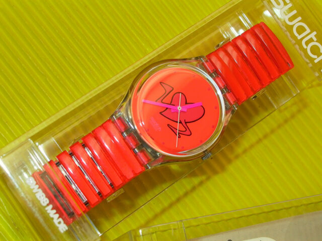 Swatch POUNDING HEART in NEU & OVP + neuer Batterie GK237
