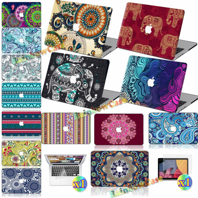 3in1 Bohemia Print Boho Matte Hard Case Cover For Macbook Pro Air 11