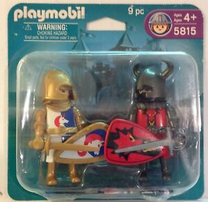 Playmobil-5815-Castle-Knights-Duo-Pack-NEW