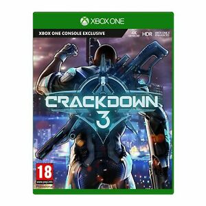 Crackdown-3-Xbox-One-In-Stock-Now-Brand-New-amp-Sealed-UK-PAL-Free-UK-Postage