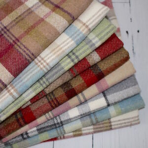 SKYE-WOOL-TOUCH-HEATHER-TARTAN-CHECK-INTERIORS-FABRIC-curtain-upholstery