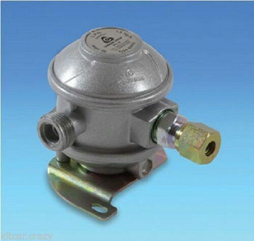 GAS 8MM ADAPTOR FOR COPPER PIPE CARAVAN GAS 90 DEGREE REGULATOR TYPE 424RV