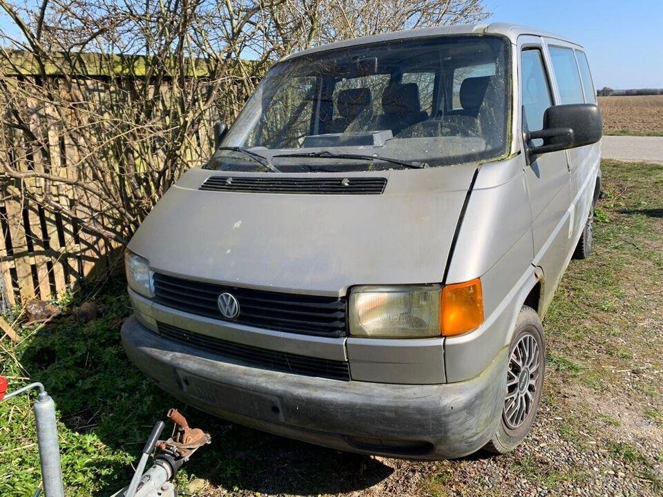 VW, Transporter, 2,4 D Kassevogn