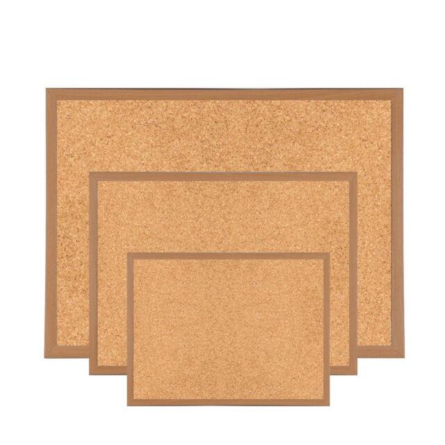 1200mm X 900mm Heavy Duty Wooden Frame Cork Notice Message Board ...