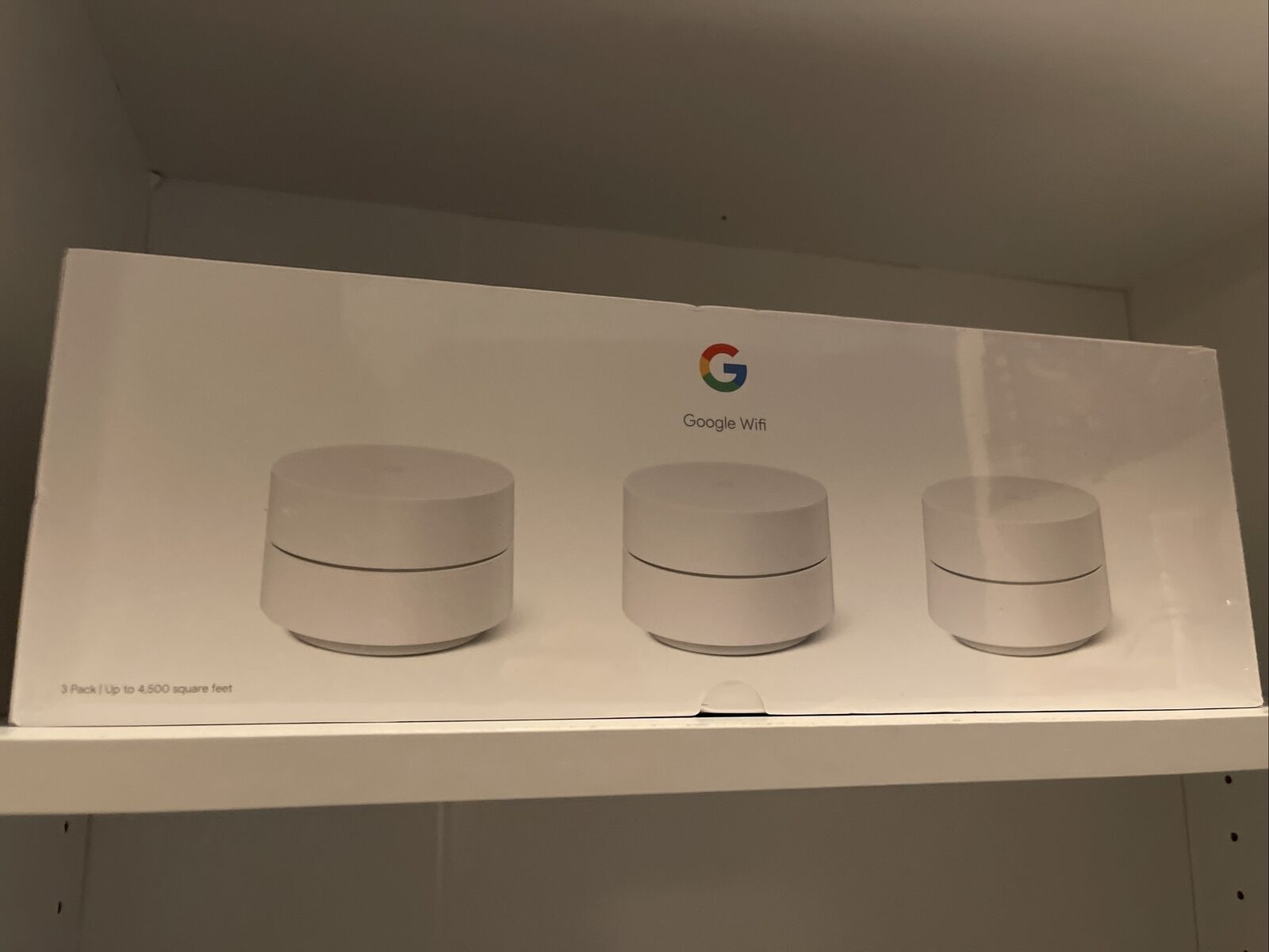 Google Wifi - Whole Home Dual-Band Mesh Wi-Fi System - 3 Pack. Buy it now for 139.00