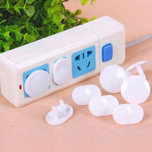 10XBabyToddler-Child-Proof-Electrical-Outlet-Socket-Plug-Cover-Shock-Safety-3pi