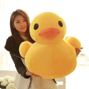 Yellow Duck Plush Toys Doll Pillow Stuffed Animal Baby Large Giant