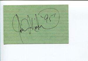 Details about John Michael Montgomery I Swear Country Music Singer Signed  Autograph