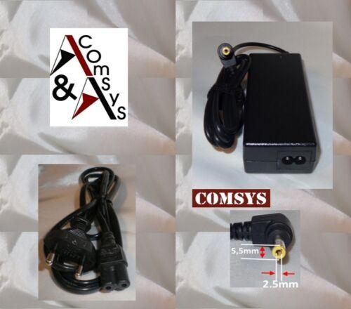 Alimentatore caricabatterie portatile Fujitsu Siemens Amilo PA 1510 pa2510 20v 3.25a #325