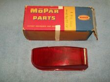 1951 52 Plymouth Concord Deluxe Savoy P22 NOS MoPar Left TAIL LAMP LENS #1345854