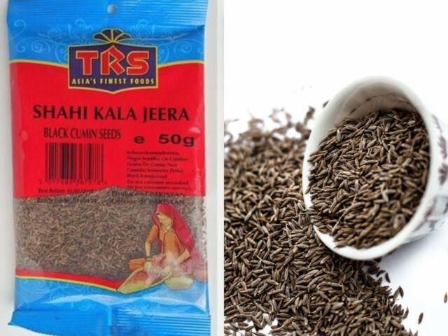 Shahi Kala Jeera Black Cumin Seeds Finest Quality TRS 50g 100g FREE DELIVERY