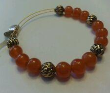 Alex and Ani Bracelet Bangle SUGAR Pop Red Orange NWT Beaded FLAME New/Tags RARE