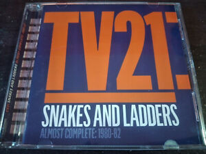 TV21 - Snakes And Ladders - Almost Complete 1980-1982 CD New Wave / Post Punk
