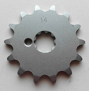 Sprocket Transmission 14 Teeth Puch X30, Maxi, X 50, MS, Monza Moped &