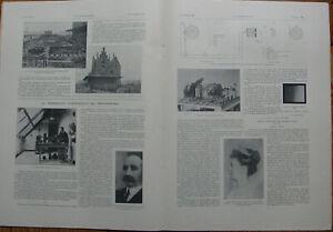 L'ILLUSTRATION 3377 DU 16/11/1907 TRANSMISSION PHOTO SANS FIL LE THEATRE GUIGNOL