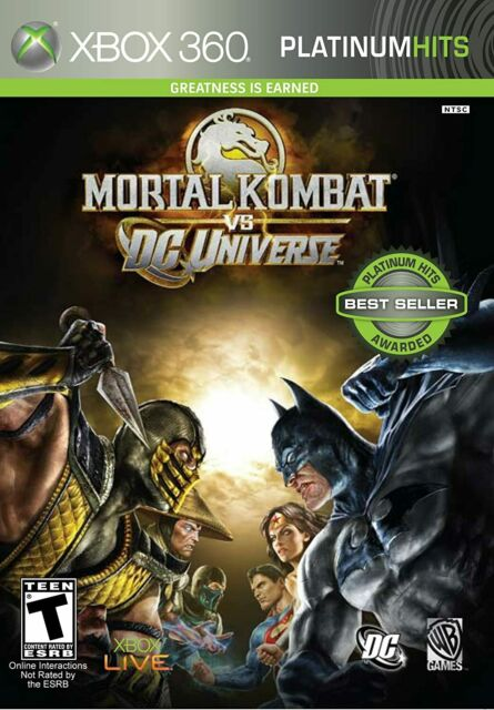 Mortal Kombat vs. DC Universe: Xbox 360 Brand New Platinum Hits