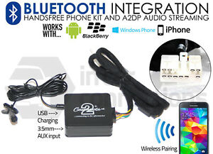 Details about Lexus Bluetooth music streaming handsfree calls CTALXBT002  AUX iPhone Sony Nokia