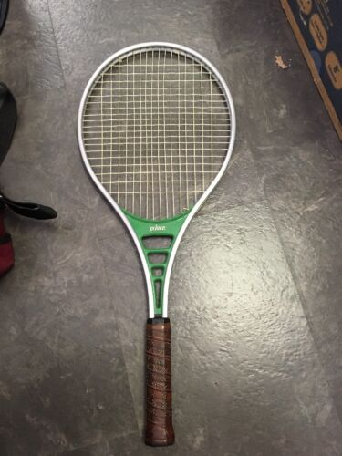 Vintage Prince 7124 Tennis Racquet with Cover USA Bundle