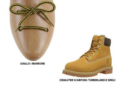 Lacci per scarpe Timberland marrone e giallo ideali per stivali e scarponcini | eBay