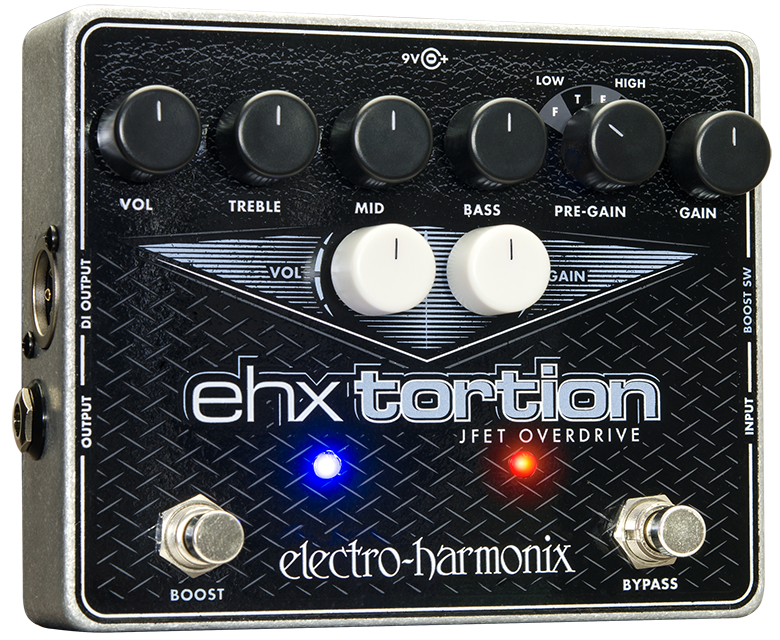 Electro Harmonix EHX Tortion JFET Overdrive   Preamp, Excellent