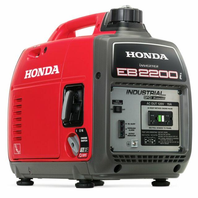 Honda Eu2200i Camo 2200w 121cc Recoil Start Portable Generator Camouflage For Sale Online Ebay