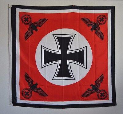 Fahne Reichsflagge 3934 Deutsches Reich Eisernes Kreuz 4x Reichsadler Flagge
