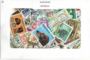 WORLDWIDE-COLLECTION-PACKET-500-DIFFERENT-STAMPS