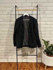 COUNTRY ROAD Mens Black Harrington Jacket Coat Size Small